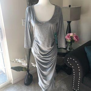 VENUS  body conscious gray dress